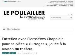 Entretien avec Pierre-Yves Chapalain