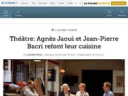 Agnès Jaoui et Jean-Pierre Bacri refont leur cuisine