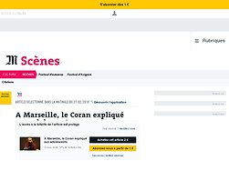 A Marseille, le Coran expliqué aux adolescents