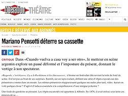 Mariano Pensotti déterre sa cassette