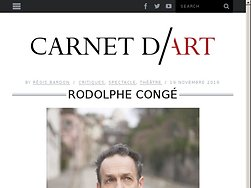 Entretien avec Rodolphe Congé