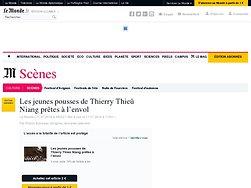 Les jeunes pousses de Thierry Thieû Niang prêtes à l'envol