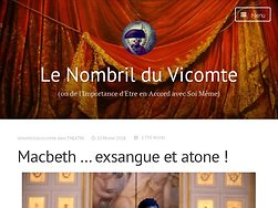 Macbeth … exsangue et atone !