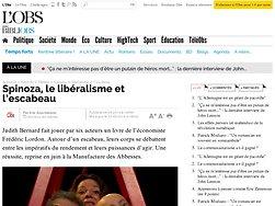 Spinoza, le libéralisme et l'escabeau