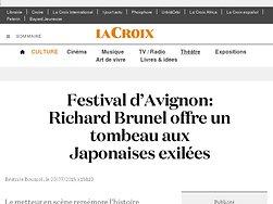 Richard Brunel offre un tombeau aux Japonaises exilées