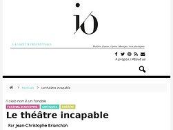 Le théâtre incapable