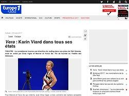 Vera: Karin Viard dans tous ses états