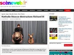 Nathalie Béasse déstructure Richard III