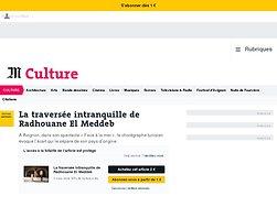 La traversée intranquille de Radhouane El Meddeb