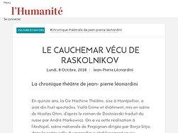 Le cauchemar vécu de Raskolnikov