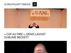 """""""Cap au pire"""" Denis Lavant sublime Beckett"""
