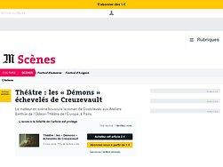 Les «Démons» échevelés de Creuzevault