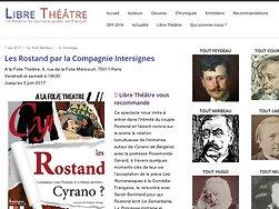 Une page brillante de l'histoire du théâtre