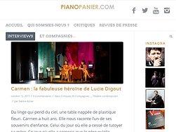 Carmen : la fabuleuse héroïne de Lucie Digout