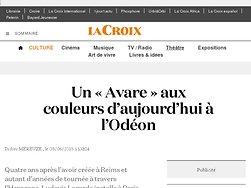 Un «Avare» aux couleurs d'aujourd'hui à l'Odéon