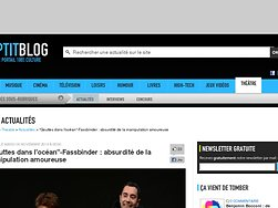 Fassbinder : absurdité de la manipulation amoureuse