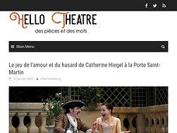 Le jeu de l'amour et du hasard : un délice signé Catherine Hiegel