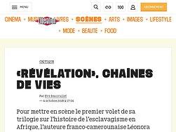 «Révélation», chaînes de vies