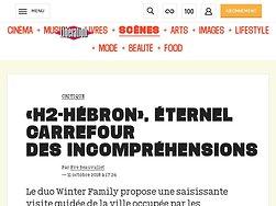 «H2-Hébron», éternel carrefour desincompréhensions