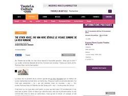 The Other Voice, Ivo Van Hove dévoile le visage sombre de la Voix Humaine