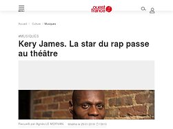 Kery James. La star du rap passe au théâtre