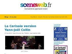 La Cerisaie version Yann-Joël Collin