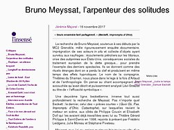 Bruno Meyssat, l'arpenteur des solitudes