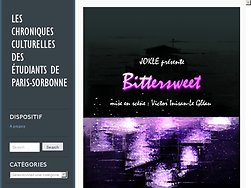 Les chroniques culturelles des étudiants de Paris-Sorbonne