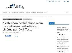 """""""Festen"""" orchestrée d'une main de maître entre théâtre et cinéma"""