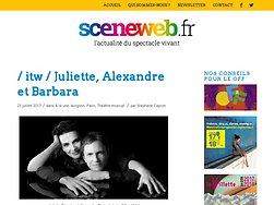 Entretien - Juliette, Alexandre et Barbara