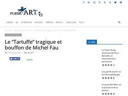 """Le """"Tartuffe"""" tragique et bouffon de Michel Fau"""