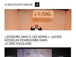 «Joueurs, Mao II, les noms» : Julien Gosselin s'embourbe dans le spectaculaire