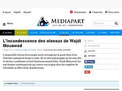 L'incandescence des oiseaux de Wajdi Mouawad
