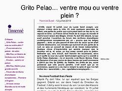 Grito Pelao… ventre mou ou ventre plein ?
