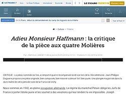 Adieu Monsieur Haffmann: la critique de la pièce aux quatre Molières