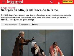 Georges Dandin, la violence de la farce