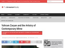 Vahram Zaryan and the Artistry of Contemporary Mime