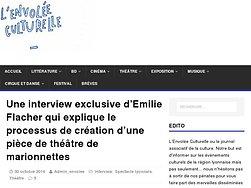 Une interview d'Emilie Flacher qui explique le processus de création
