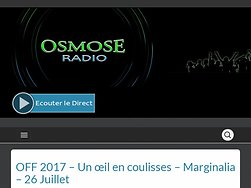 Off 2017 - Un œil en coulisses