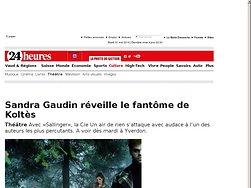 Sandra Gaudin réveille le fantôme de Koltès