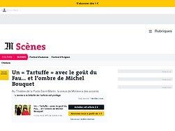Un «Tartuffe» avec le goût du Fau… et l'ombre de Michel Bouquet
