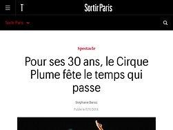 Pour ses 30 ans, le Cirque Plume fête le temps qui passe