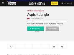 """""""Asphalt Jungle"""", une équation  aussi simplequ'insoutenable"""