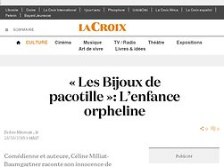 «Les Bijoux de pacotille»: L'enfance orpheline