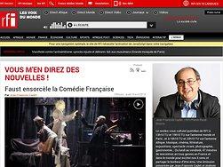 Faust ensorcèle la Comédie Française