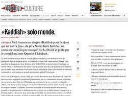 «Kaddish» solo monde