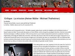 Müller questionne les trahisons des révolutions