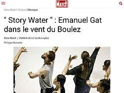 """"""" Story Water """" : Emanuel Gat dans le vent du Boulez"""