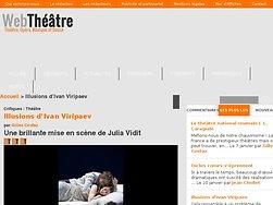 Une brillante mise en scène de Julia Vidit