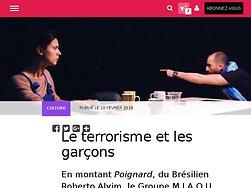 Le terrorisme et les garçons